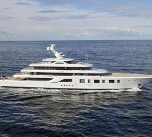 Breath-taking 92m Feadship superyacht Aquarius joins charter world
