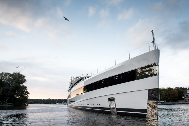 93m mega yacht Project 814 by Feadship
