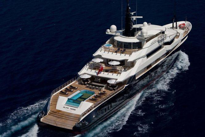 ALFA NERO mega yacht