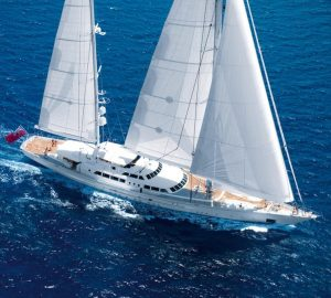 64m Perini Navi sailing yacht SPIRIT OF THE C'S for charter in the Caribbean