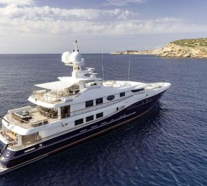 52m Charter Yacht DENIKI to Embark on a 2-Year World Tour from Caribs to South Pacific
