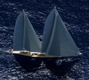 Creating classic contemporary interior living spaces - Insight into Royal Huisman sailing yacht Aquarius