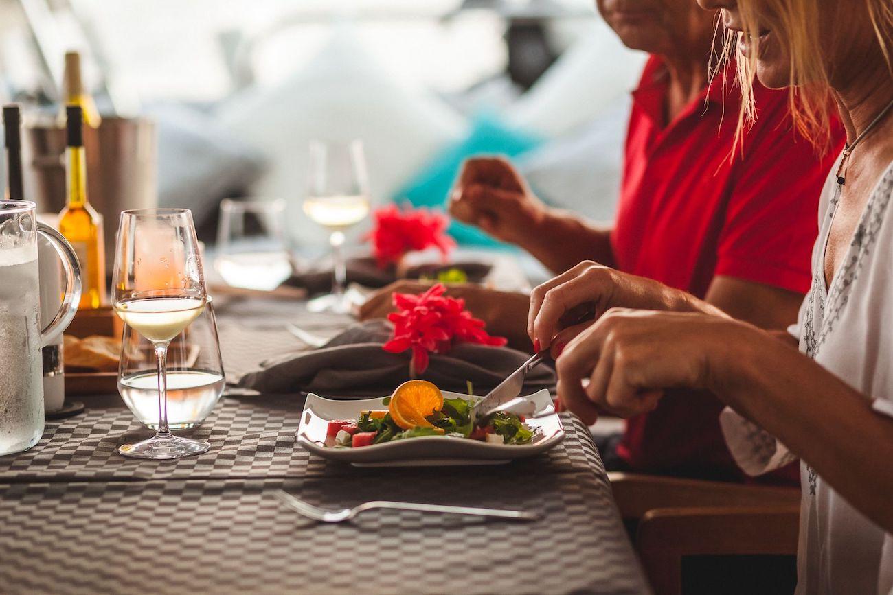 Dining alfresco