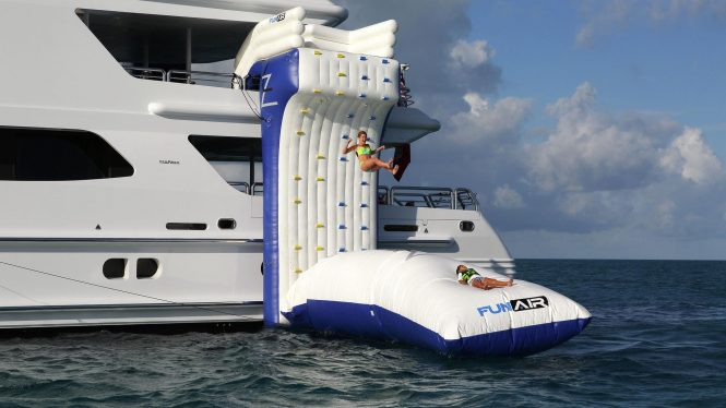Endless fun on your charter vacation