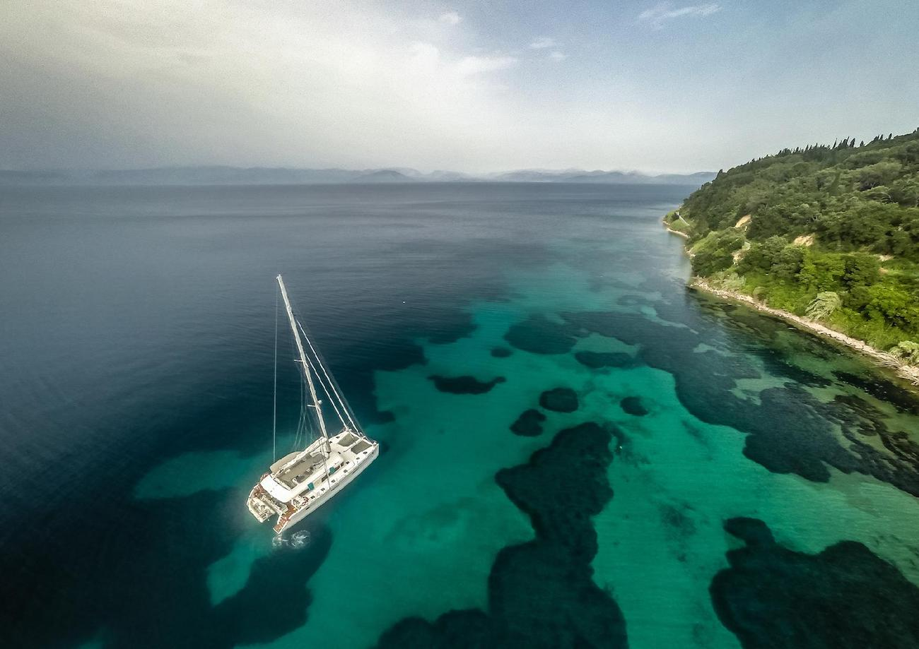 Fabulous Tahiti charter vacations in the South Pacific aboard Ocean View