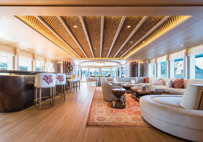 Fabulous interiors with huge on board spaces