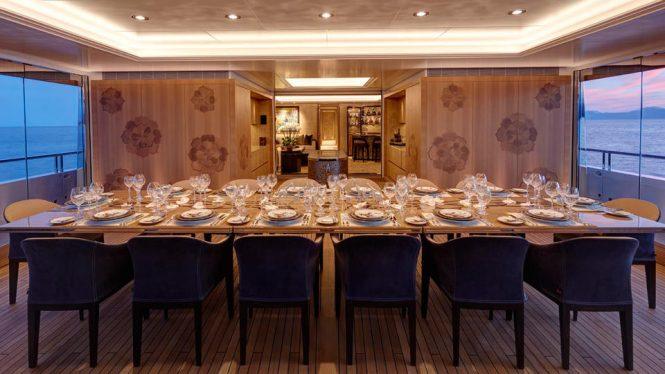 Huge formal dining table