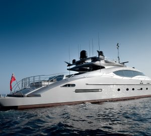 Amazing 50% Discount on South of France yacht charters with 36m IZUMI