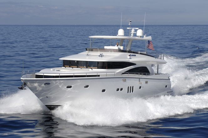 Johnson 80 motor yacht