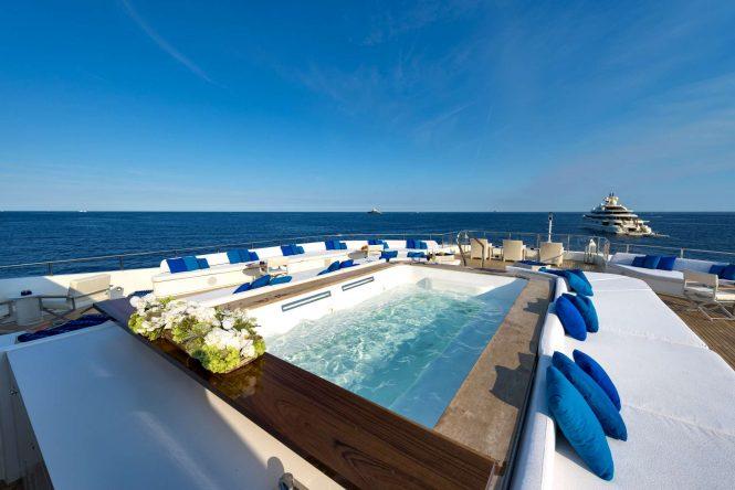 Jacuzzi spa pool aboard