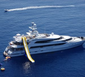 LAZY Z now available for luxury yacht charters in the Caribbean and the Bahamas