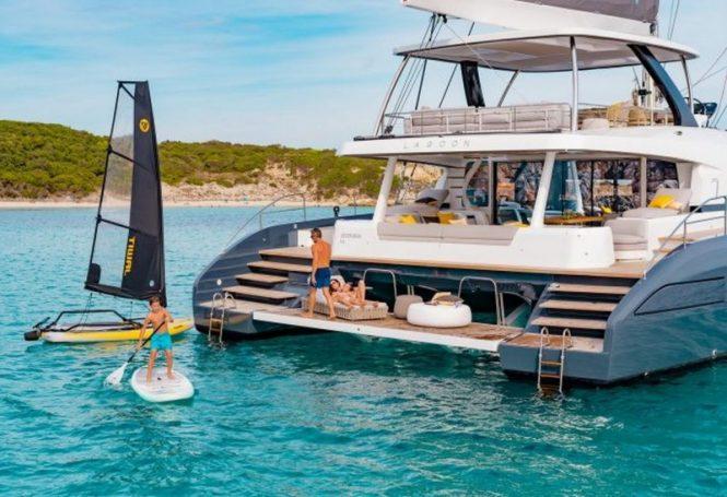 Lagoon 77 catamaran BABAC