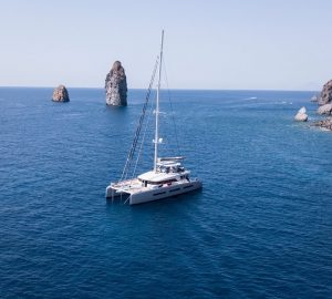 Brand-new 23m sailing cat BABAC available in Caribbean this winter