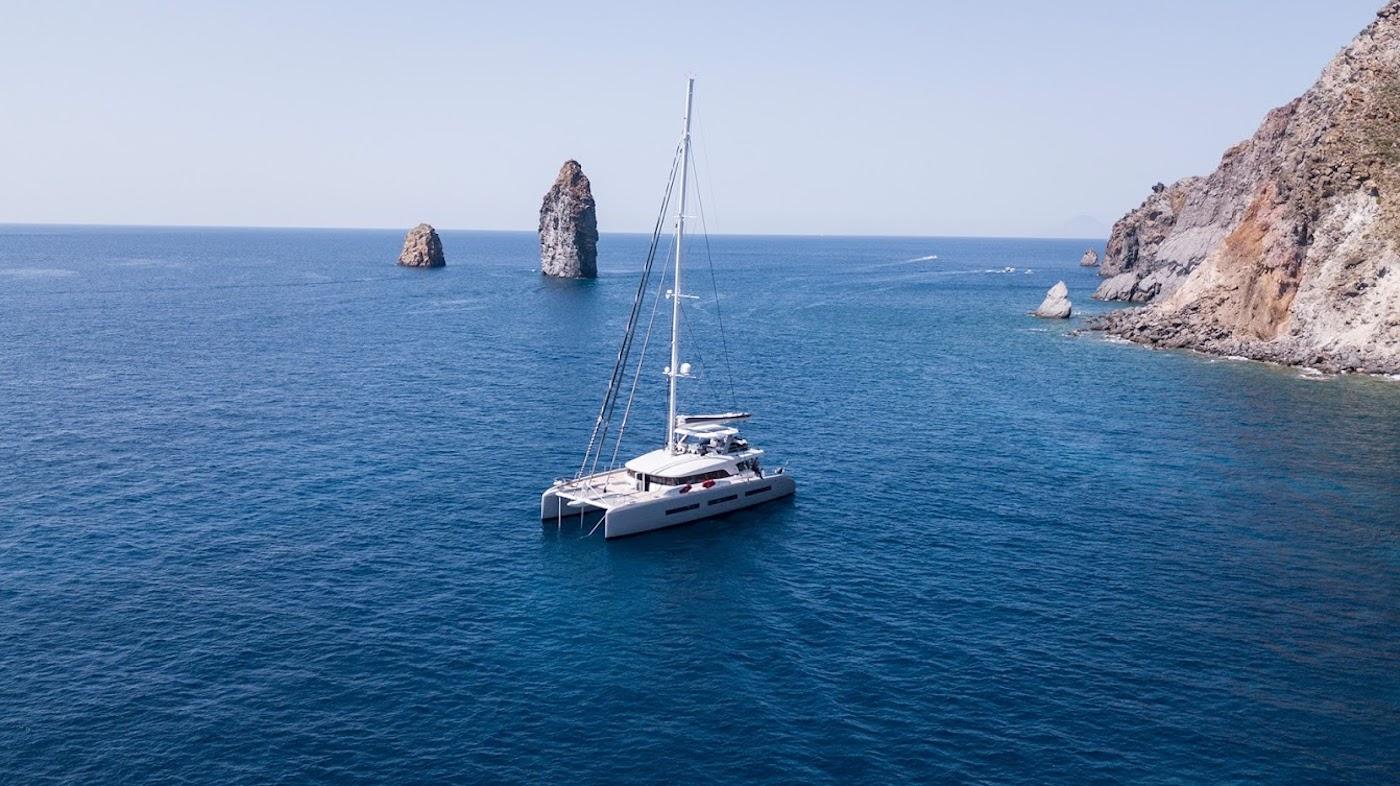 Lagoon sailing catamaran