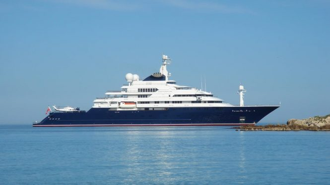Luxury mega yacht OCTOPUS - Photo credit Lurssen Yachts