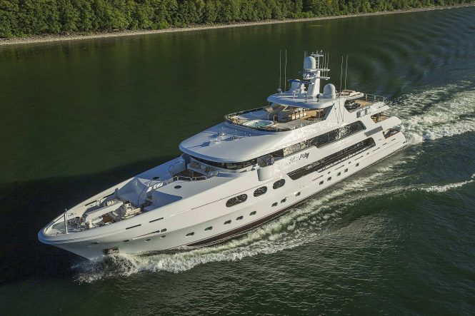 Luxury superyacht SILVER LINING