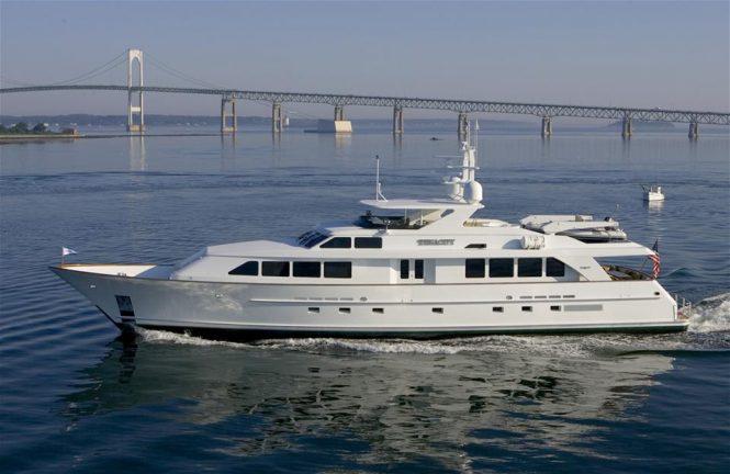 Luxury yacht Cynthia (ex Tenacity)