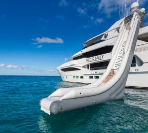 42.7m KING BABY Chartering in the Caribbean this Winter