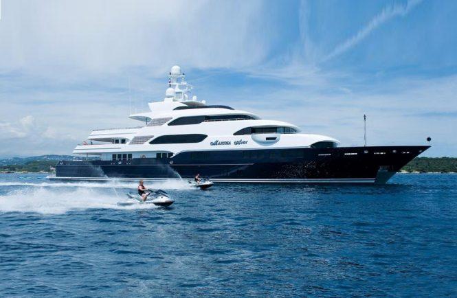 Magnificent MARTHA ANN superyacht