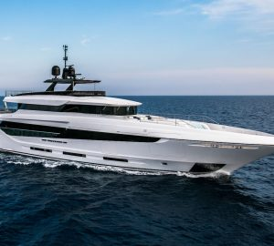 New Mangusta Oceano 43 hull 3 superyacht sold by Overmarine Group