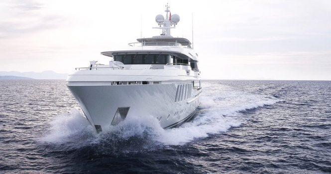 Motor Yacht LIQUID SKY by CMB Yachts - the bow