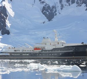 10% off Amazing Antarctica superyacht charters with 77m LEGENT