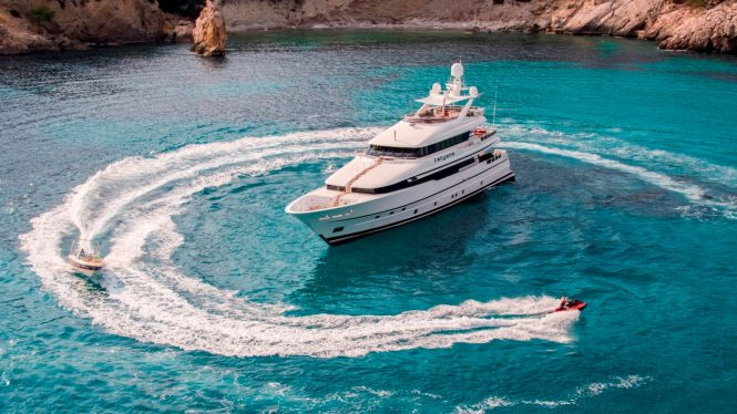 Motor yacht TATIANA with water toys