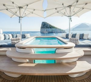 Caribbean Christmas Superyacht Charter with 41m RUYA