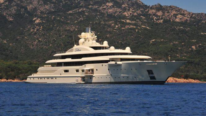 RAYA ex Ona, Dilbar - Credit Lurssen Yachts