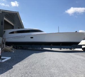 30m Sportfisher superyacht 18 REELER launched by Weaver Boatworks