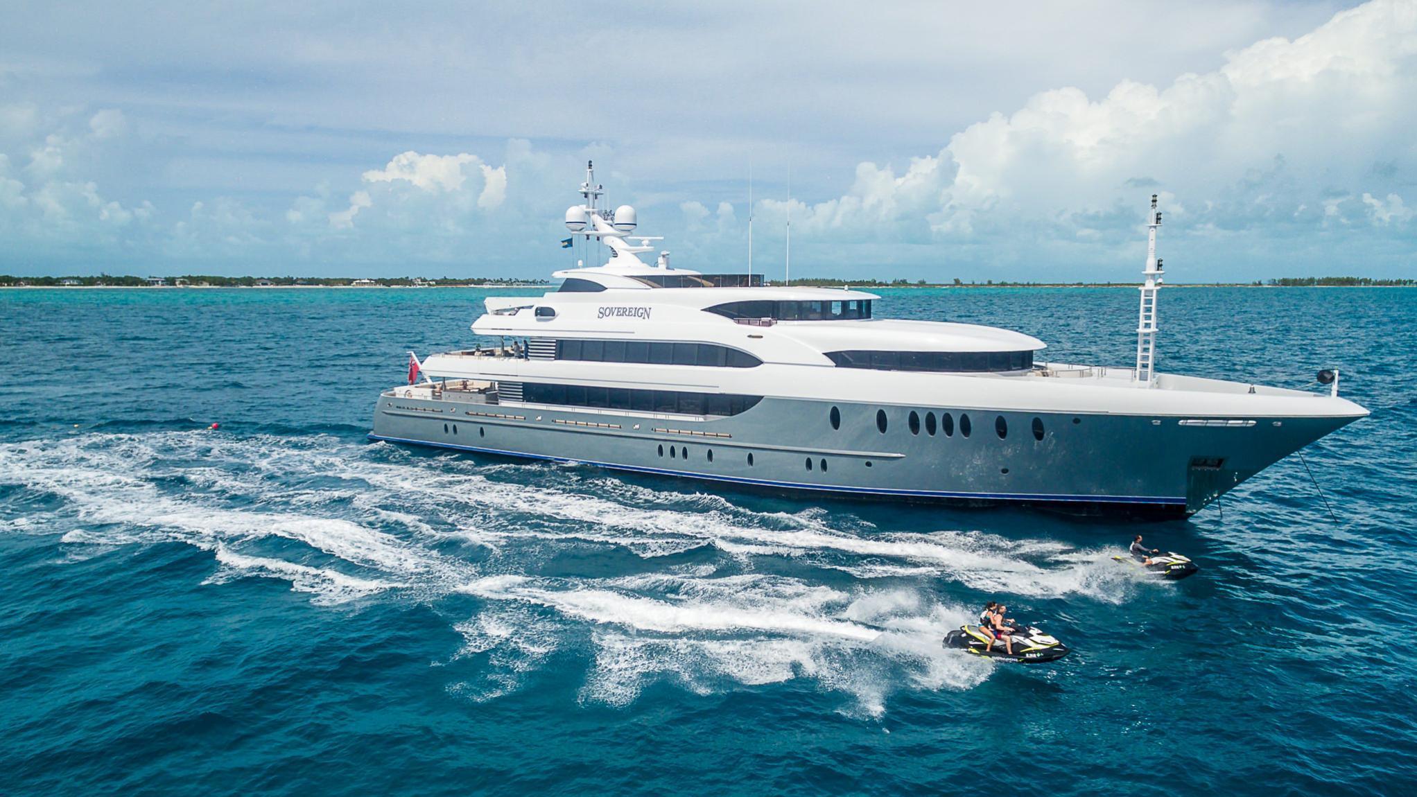 SOVEREIGN luxury superyacht
