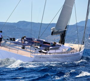 30m Sailing Yacht SWAN 98 in build at Nautor's Swan