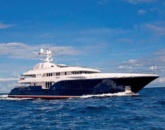 SYCARA V luxury yacht by Nobiskrug