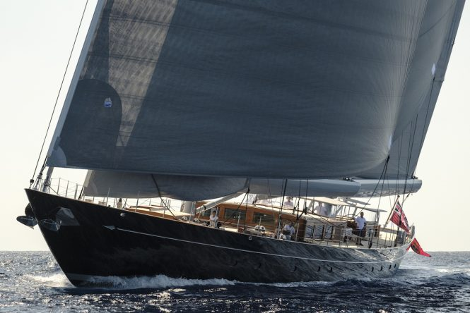 Sailing yacht AQUARIUS by Royal Huisman - Photo credit Carlo Baroncini