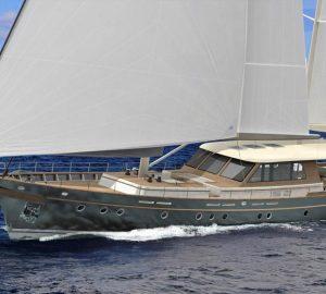 Huzur Yachts prepares to launch 30m Sailing Yacht VAGANTE