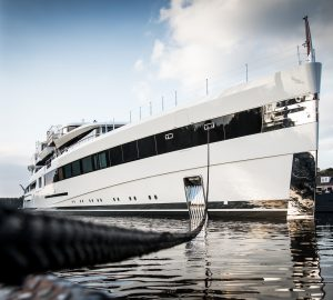 Exciting New 93m Mega Yacht Project 814 by Feadship Hits Water