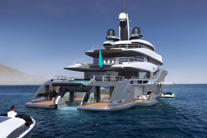 Turquoise 77m Quantum - Limo Approach