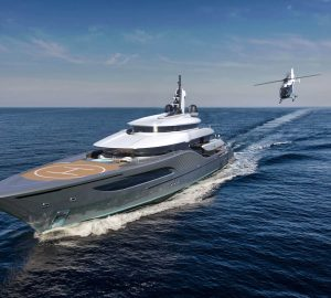Superyacht QUANTUM - The 77-metre concept from Ken Freivokh for Turquoise Yachts