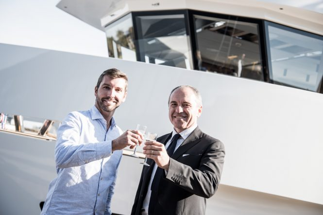 VINCENT GRANDMAISON - OWNER REP & FILIPPO ROSSI - Credit Lynx Yachts