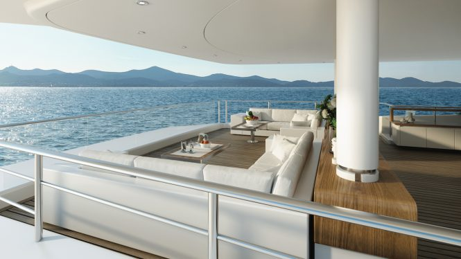 Vast exterior deck areas for celebrations and events, as well as simple relaxation