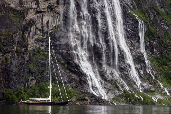 WISP sailing yacht - Photo Cory Silken