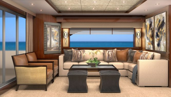 saloon- Rendering by Karen Lynn Interior Design