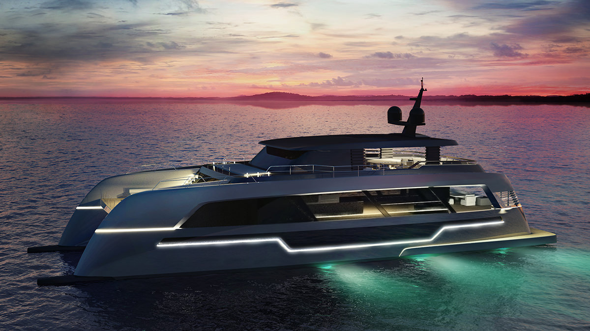 120 Sunreef Power Catamaran Yacht