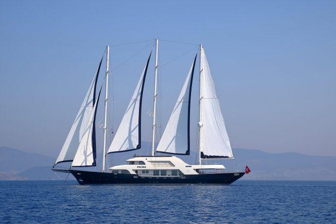 50m motor sailer yacht MEIRA