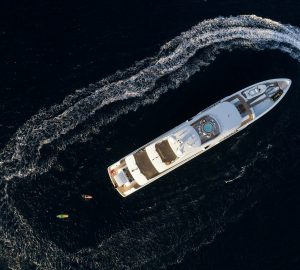 Tropical Luxury Christmas with 55m Charter Yacht LAURENTIA in the Caribbean
