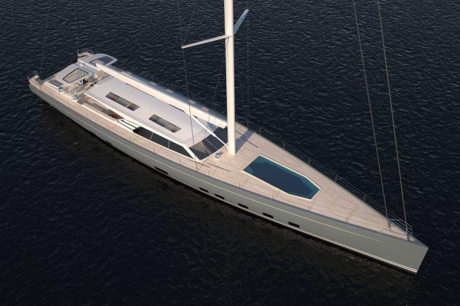 Baltic 146 Custom sailing yacht profile