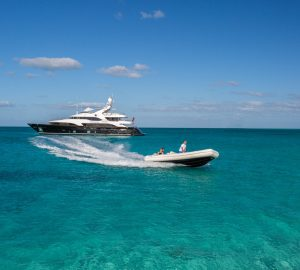 44m Benetti superyacht CHECKMATE for charter in the Caribbean