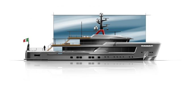 CRN Explorer 45mt ALFAROSSO by Francesco Paszkowski Design