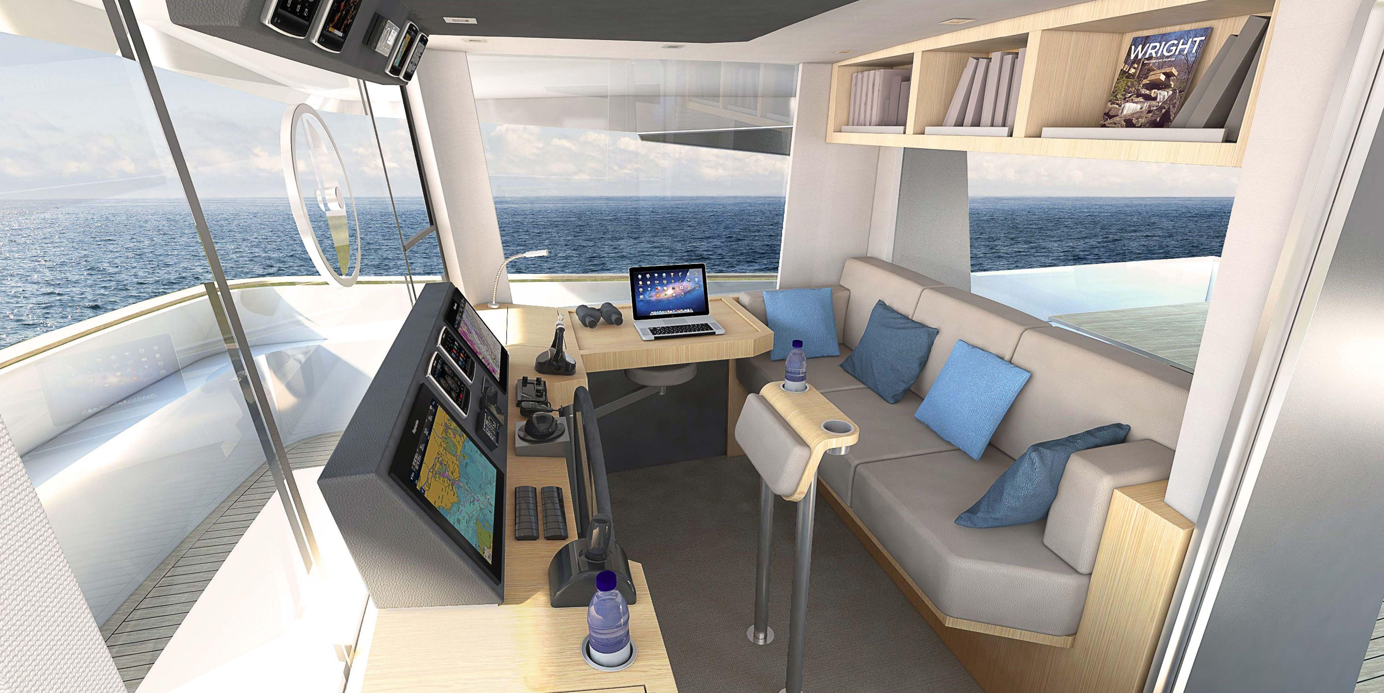 Catamaran LONG ISLAND 78 - Photo credit JFA Yachts