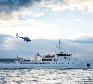 DAMEN redelivers 69m customised expedition yacht GAME CHANGER